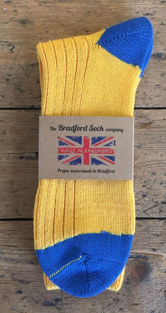 Men's Yellow Socks